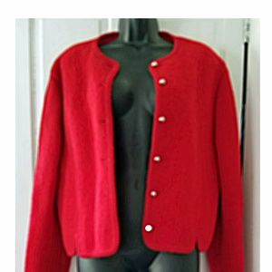 Vintage 70's Eagle Eye Boiled wool Jacket size 10